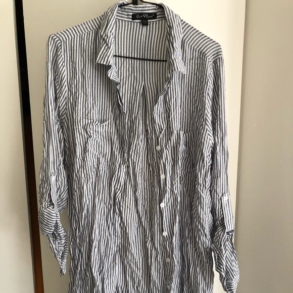 Tops - Striped tunic shirt